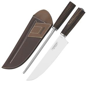 Нож в чехле с заточкой Tramontina Braun