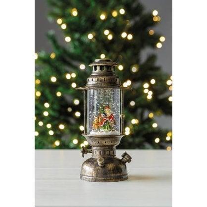 """Рождественский фонарь """"Санта-3"""" с LED подсветкой"""