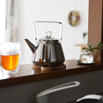 Чайник Кофейник стальной Opa 0,5 л серия Mari | поставщик Opa - 3-