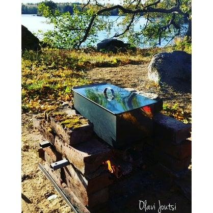 Коптильный ящик 25 х 45 х 14 см Muurikka  от производителя  Muurikka - Opa & Muurikka Russia 1