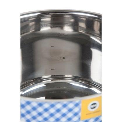 Кастрюля 5,0 литров Opa серия Mari Steel купить от поставщика Opa  - 1-