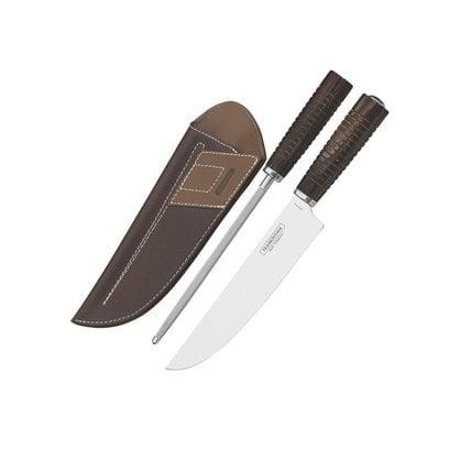 Нож в чехле с заточкой Tramontina Braun в России | Производитель Tramontina