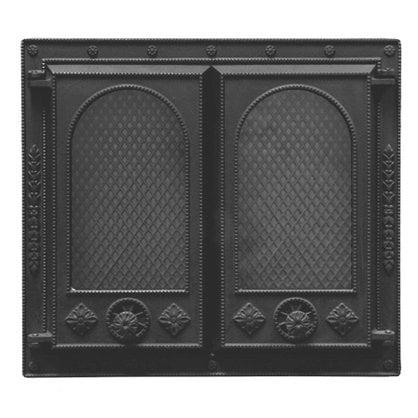 Каминная дверца НTT 107 черная в России | Производитель KOTAKEITTIO