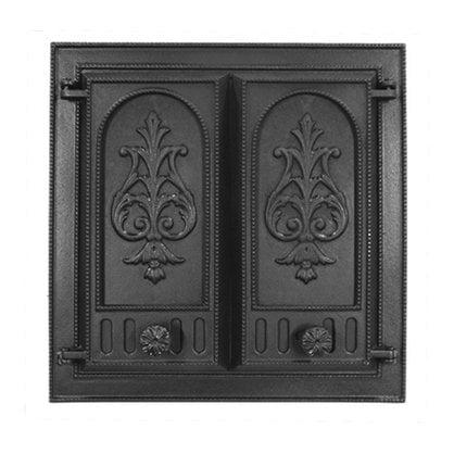 Каминная дверца НTT 115 черная