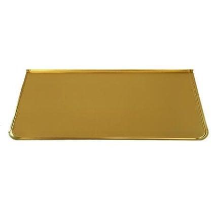 Напольный лист 828 для печи латунный 40х70 см