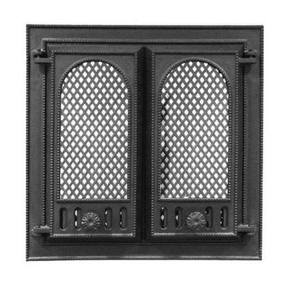 Внутренний экран от искр 1 для каминной дверцы НTT 102, 116  от производителя  Kotakeittio - Opa & Muurikka Russia
