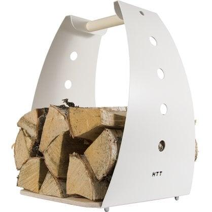 Корзина для дров HONKA белая в России | Производитель KOTAKEITTIO