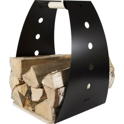Корзина для дров HONKA черная  от производителя  Kotakeittio - Opa & Muurikka Russia