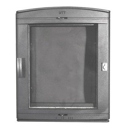 Каминная дверца НTT 526 серая  в России -  Дверцы малых размеров для печей и каминов  -