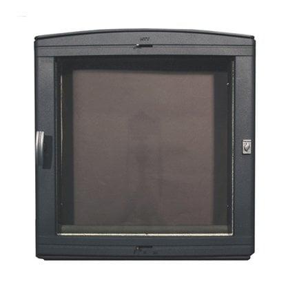 Каминная дверца НТТ 501 черная в России | Производитель KOTAKEITTIO