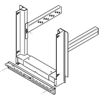 Экомодуль HTT для каминной дверцы стальной
