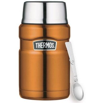 Термос Thermos® Midnight Gold Stainless King с ложкой 710 ml от производителя Thermos - Opa & Muurikka Russia