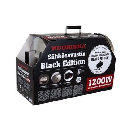 Электрическая коптильня 1200 Вт PRO Muurikka Black Edition  от производителя  Muurikka - Opa & Muurikka Russia 5