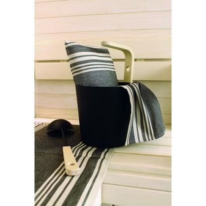 Банная подушка черно-полосатая купить от поставщика Opa  - 1-