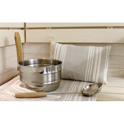 Банная подушка светло-полосатая Lumo купить в России  - 1-