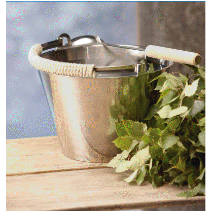 Ведро для бани и сауны Lumo 8 л  от производителя  Opa - Opa & Muurikka Russia 1