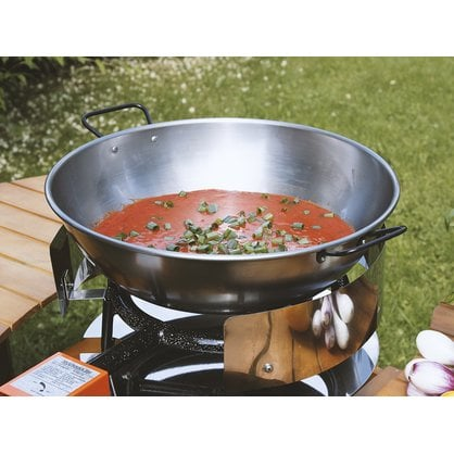 Сковорода стальная 40 см Wok Muurikka купить в России  - 1-