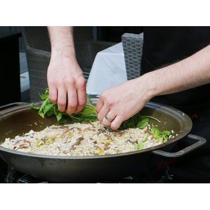 Сковорода походная 43 см WOK с ножками Muurikka купить в России - 4-