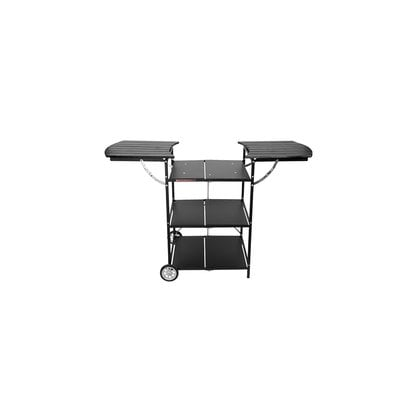 Стол тележка для барбекю черный с чехлом Muurikka Flexi от производителя Muurikka - Opa & Muurikka Russia