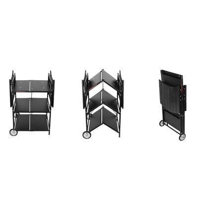 Стол тележка для барбекю Muurikka Flexi черный с чехлом купить от поставщика MUURIKKA - 1-