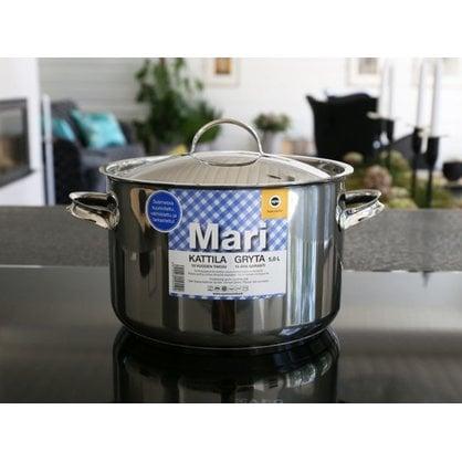 Кастрюля 5,0 литров Opa серия Mari Steel  от производителя  Opa - Opa & Muurikka Russia 2