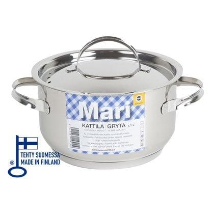 Кастрюля 1,1 литр Opa серия Mari Steel в России | Производитель Opa