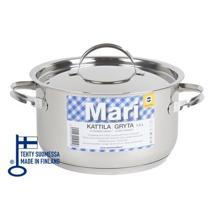 Кастрюля 1,5 литра Opa серия Mari Steel в России | Производитель Opa