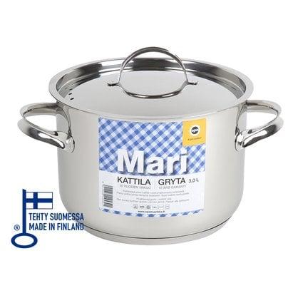 Кастрюля 3,0 литра Opa серия Mari Steel от производителя Opa - Opa & Muurikka Russia