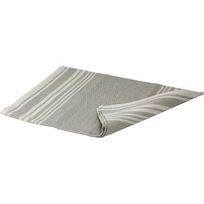 Банный коврик светло-полосатый  в России -  Изделия для сауны LUMO  -