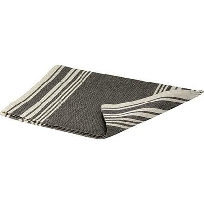 Банный коврик черно-полосатый  в России -  Изделия для сауны LUMO  -