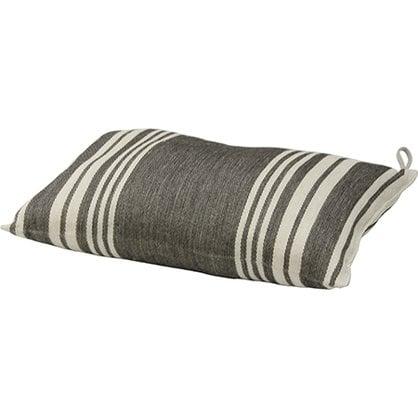 Банная подушка черно-полосатая Lumo в России - Изделия для сауны LUMO -