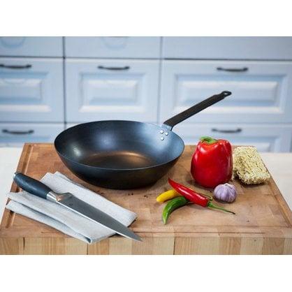 Сковорода стальная WOK  28 см Opa Black Carbon  от производителя  Opa - Opa & Muurikka Russia 3