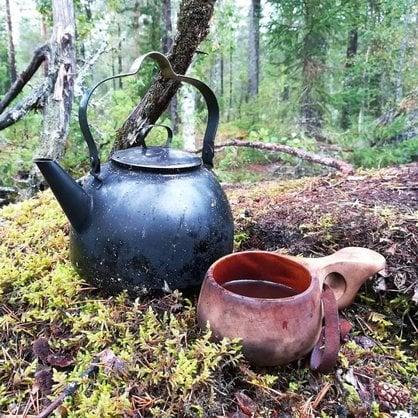 Чайник костровой походный Muurikka 3,0 литра купить от поставщика MUURIKKA  - 1-