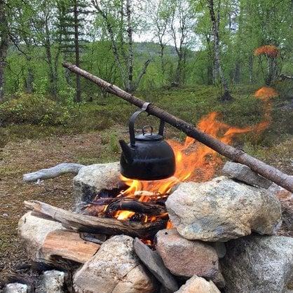 Чайник костровой походный Muurikka 3,0 литра купить от поставщика MUURIKKA  - 2-
