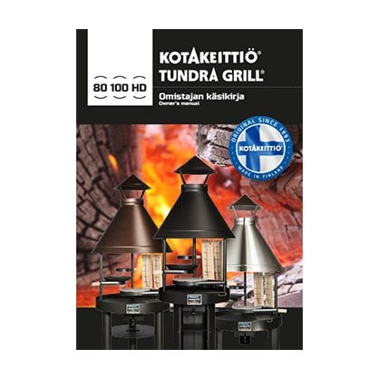 Tundra Grill 100 HIGH STAINLESS STEEL | поставщик Tundra Grill - 1-