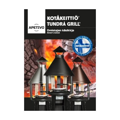 Tundra Grill APETIVO LOW STAINLESS STEEL купить в России  - 1-