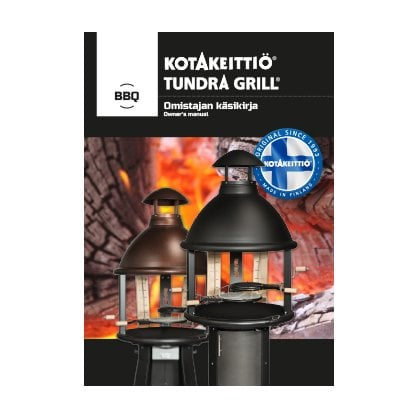 Tundra Grill BBQ LOW BLACK купить в России - 1-