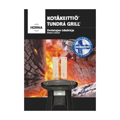 Tundra Grill NORNA BLACK | поставщик Tundra Grill  - 1-
