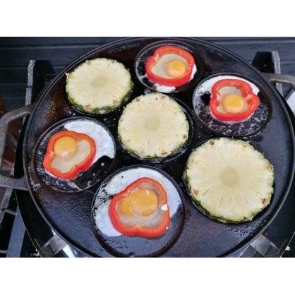 Сковорода 7 форм 42 см Muurikka купить в России - 4-