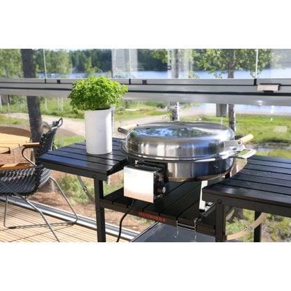 Электрическая летняя кухня Muurikka черная купить от поставщика MUURIKKA  - 1-