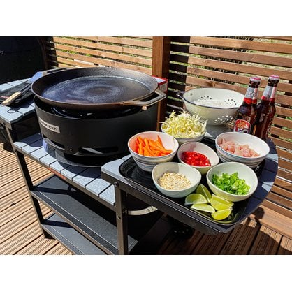 Газовая летняя кухня Muurikka черная  от производителя  Muurikka - Opa & Muurikka Russia 4