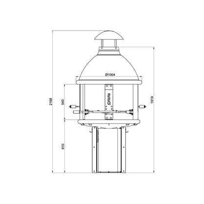 Tundra Grill BBQ HIGH ANTIQUE купить от поставщика Tundra Grill - 1-