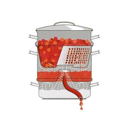 Соковарка 8 литров DAY Mehustin  от производителя  Marjukka - Opa & Muurikka Russia 1