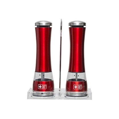 Набор мельниц для специи Swiss Life NDK красный в России | Производитель Swiss Life NDK